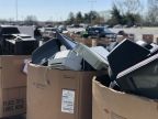 253,756 pounds of E-Waste collected at the event (Photo: Business Wire)