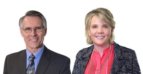 Nerium International President Bo Short and Co-CEO Deborah K. Heisz (Photo: Business Wire)