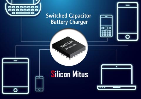 Silicon Mitus 公司近期推出了快速直流-直流充电芯片SM5428,成为业内屈指可数的提供直流-直流转换方案的公司之一。SM5428是一款快速充电芯片,主要应用于PC,Tablet,Smart Phone等移动便携设备。SM5428最大效率达98%,支持最大输入电流8A,最大功率可以到35W,可大大节约移动设备的充电时间。 (图示:美国商业资讯)
