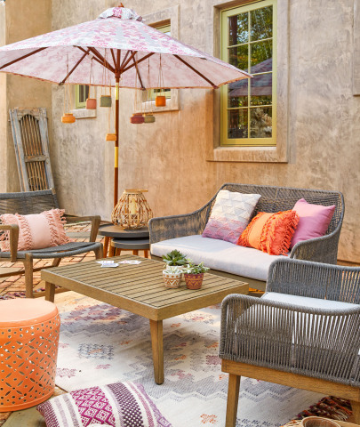 The new Rapallo Outdoor Collection from Cost Plus World Market (Photo: Business Wire)