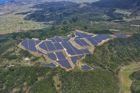 KYOCERA TCL Solar completes 29.2MW solar power plant in Yonago City, Tottori Prefecture, Japan (Phot ...