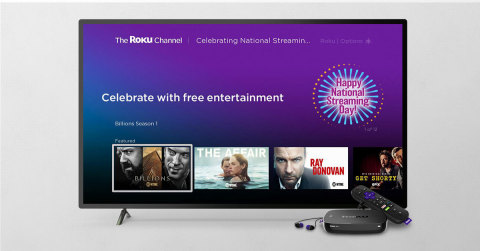 Celebrating National Streaming Day (Photo: Business Wire)