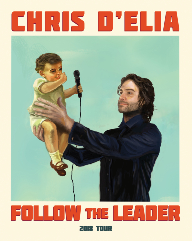 "Chris D'Elia's ""Follow The Leader Tour"" comes to The Event Center at SugarHouse Casino on Saturday, Sept. 29 at 7:30 p.m. (Photo: Business Wire)"