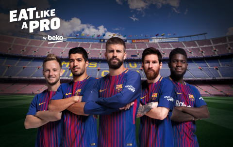 Beko Raises a Staggering €1,000,000 in 11 Days for UNICEF to Help Tackle Childhood Obesity with #EatLikeaPro Initiative (Photo: Beko)
