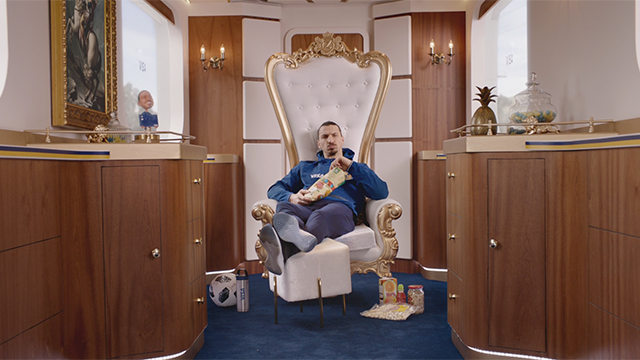 International football star Zlatan Ibrahimović announces his return with Visa to the 2018 FIFA World Cup Russia™