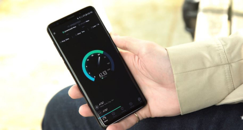 According to Ookla, a leading mobile data speed analyst, the Samsung Galaxy S9 and S9+ are the fastest smartphones on the market. (Photo: Business Wire)