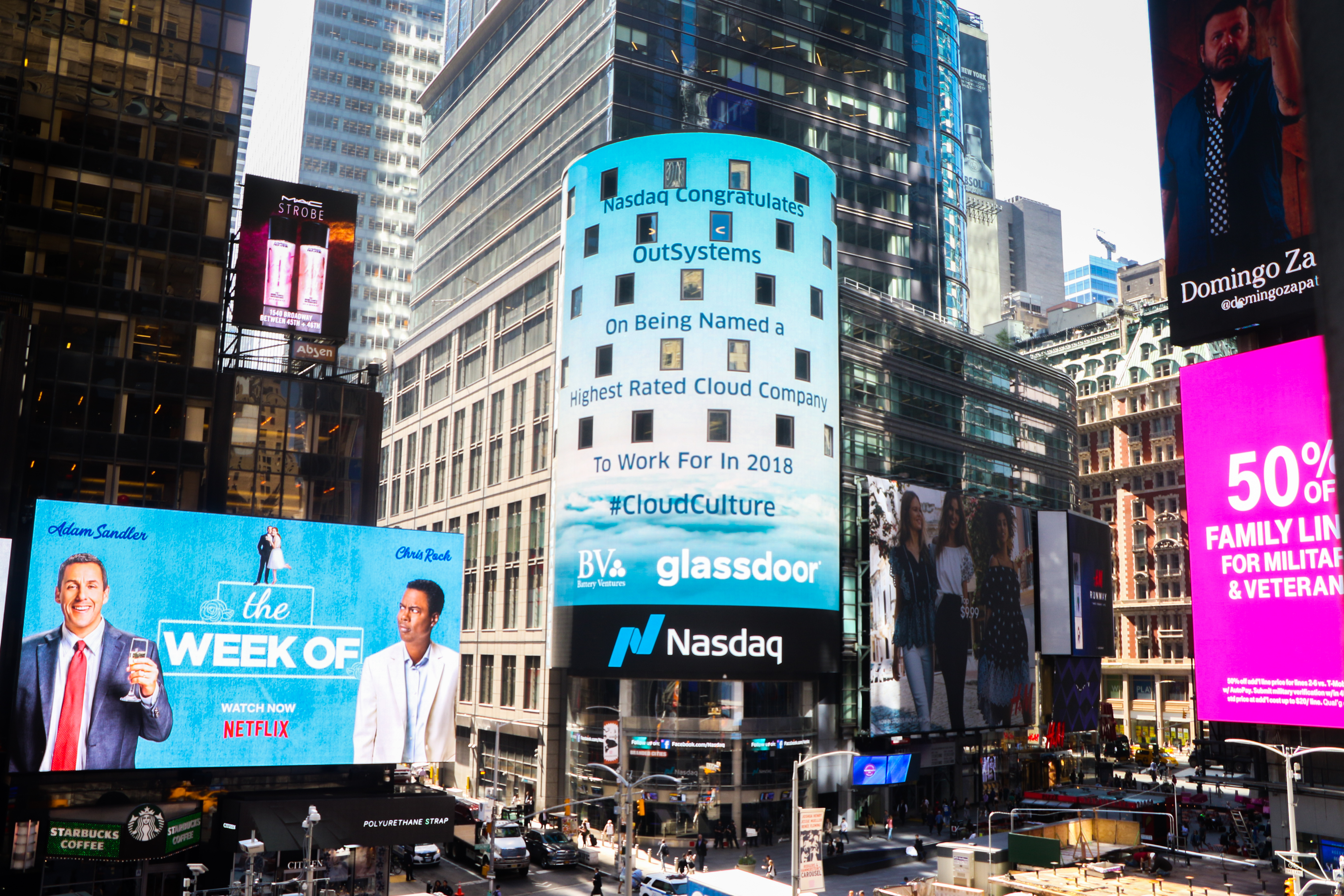 Battery Ventures And Glassdoor Name Outsystems A Top Cloud Employer