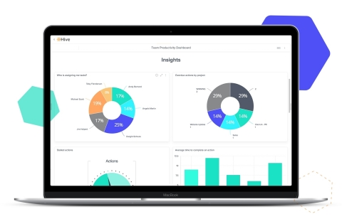 Hive Analytics dashboard (Graphic: Business Wire)