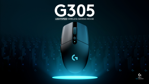 Logitech G today announced the Logitech® G305 LIGHTSPEED Wireless Gaming Mouse, a next-generation gaming mouse bringing LIGHTSPEED™ wireless technology and the HERO™ (High Efficiency Rated Optical) sensor to all gamers. (Photo: Business Wire)