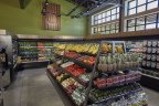 Market 5-ONE-5 shelves are stocked with products that are minimally processed, organic and sustainably sourced. (Photo: Business Wire)