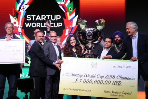 Startup World Cup 2018 Winner: Leuko Labs (Photo: Business Wire)