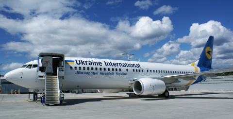 CDB Aviation's two Boeing 737-800 aircraft will support Ukrainian International Airlines' medium-haul network (Photo: Business Wire)