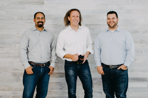 Expel co-founders Yanek Korff, Dave Merkel and Justin Bajko (Photo: Business Wire)