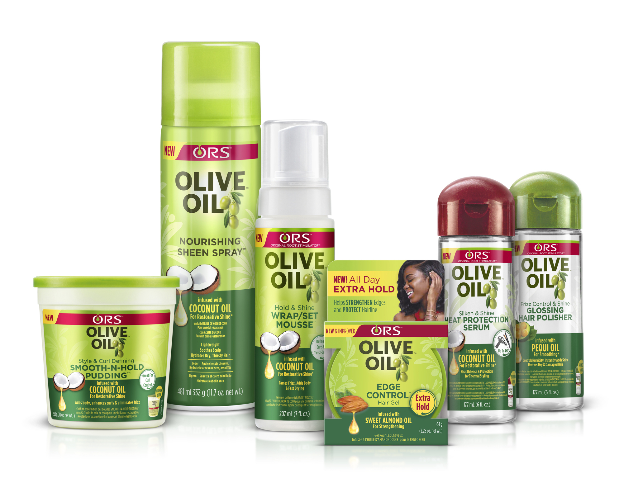 haircare expert ors™ updates its iconic olive oil collection