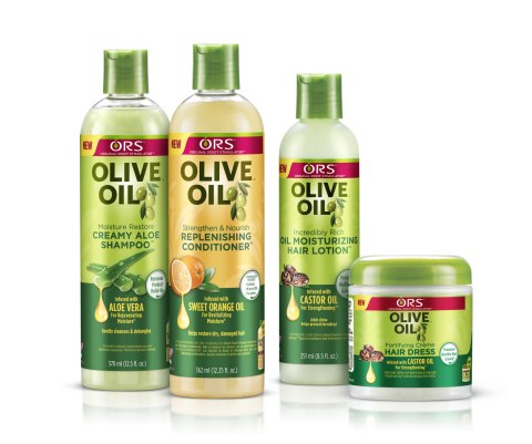Haircare Expert ORS™ Updates its Iconic Olive Oil Collection with a Fresh New Look and Enhanced Products (Photo: Business Wire)