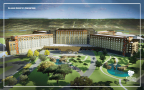 Kalahari Resorts and Conventions officially broke ground on the company's fourth property in Round Rock, Texas on May 15, 2018. Scheduled to open in 2020, the Round Rock property will mark the Kalahari's first expansion into the Southwest. The location will include nearly 1,000 guest rooms, America's Largest Indoor Waterpark, outdoor waterpark experiences, an expansive convention center, Tom Foolery's Adventure Park, world-class dining, a full-service spa and diverse shopping options. For more information on Kalahari Resorts and Conventions, visit www.KalahariResorts.com. (Photo: Business Wire)