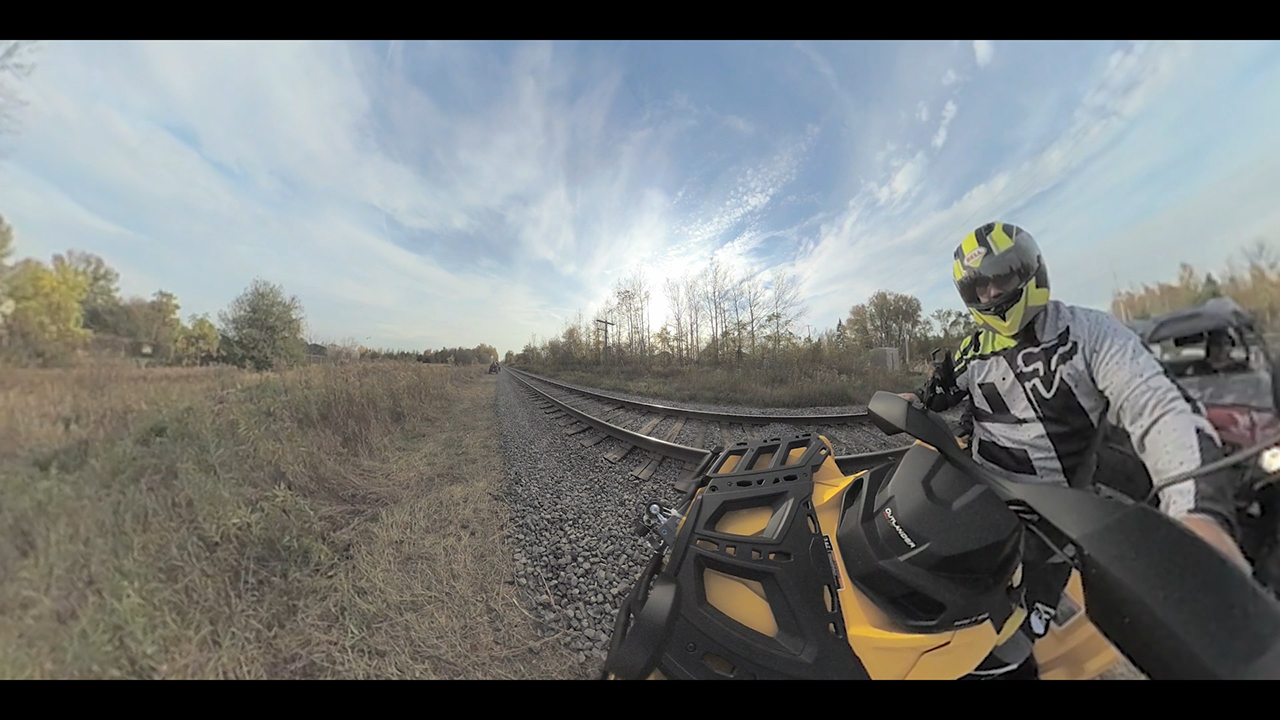 New virtual-reality video aims to reduce collisions between trains and all-terrain vehicles. (Photo: Business Wire)