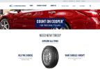 The Cooper Tires consumer website, www.coopertire.com, earned the Best Manufacturing Website award in this year's Internet Advertising Competition. (Graphic: Business Wire)