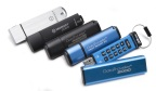 Kingston encrypted USB drives are security solutions designed to meet the challenges of today's workforce and cyber security requirements. (Photo: Business Wire)
