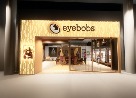 Rendering of eyebobs' first brick and mortar location at Mall of America (Photo: Business Wire).