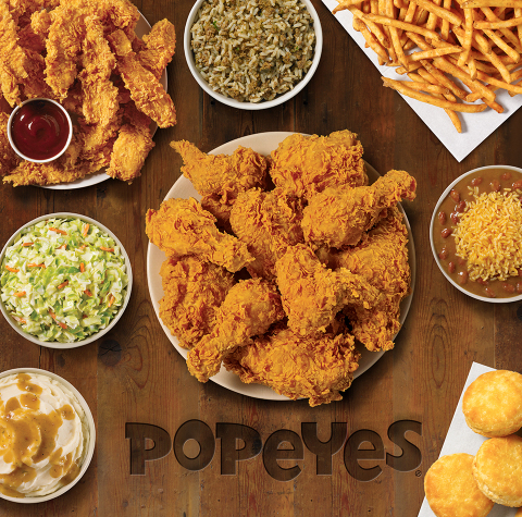 GUESTS ASKED, POPEYES® ANSWERED - POPEYES® NOW AVAILABLE FOR DELIVERY WITH UBER EATS (Photo: Business Wire)