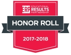 The Educational Results Partnership (ERP) Honor Roll recognizes higher-performing public schools and districts. (Graphic: Business Wire)