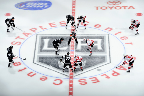 LA Kings and AEG will bring BluEco Liquid Crystalline Turbex™ System to arenas - such as STAPLES Center - and teams worldwide, enhancing the NHL's Greener Rinks Initiative. (Photo: Business Wire)