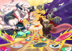 Sushi Striker: The Way of Sushido combines bright, anime art style with frenetic yet tactical gameplay - centered on consuming as much sushi as possible - delivering a veritable conveyor belt loaded with surprise and delight. (Photo: Business Wire)