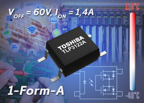 Toshiba: Artist's impression of TLP3122A (Graphic: Business Wire)