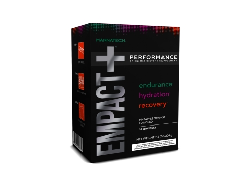 Mannatech Introduces Industry's First Three-in-One Fitness Drink Mix, EMPACT+™ (Photo: Business Wire)