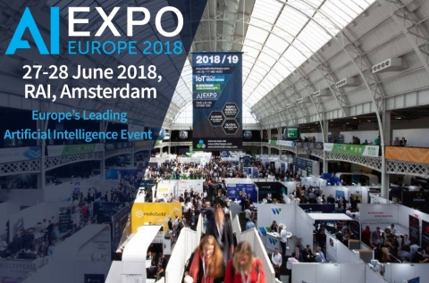 The AI Expo Europe, the leading Artificial Intelligence conference & exhibition to arrive soon in Am ...