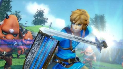 The Hyrule Warriors: Definitive Edition game will be available on May 18. (Graphic: Business Wire)