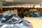 Fifth Annual Cradles to Crayons® Backpack-A-Thon® at Staples Stuffs 20,000 Backpacks. (Photo: Business Wire)