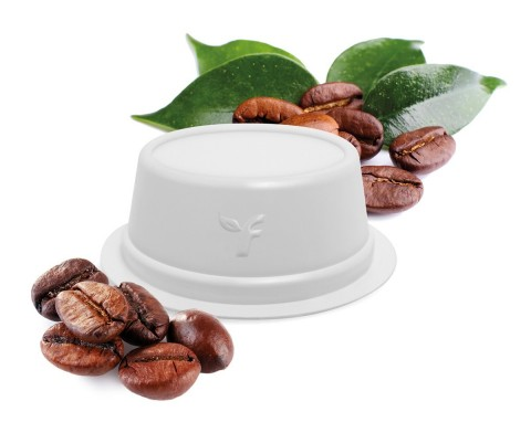 The new single-serve coffee capsule is the first in the world that combines compostability, oxygen barrier, and an improved taste and aroma experience for the consumer. (Photo: Business Wire)
