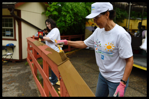 PPG (NYSE:PPG) completed a COLORFUL COMMUNITIES™ project in Pittsburgh that helped revitalize differ ...