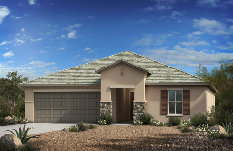 New KB homes now available in the Tucson area. (Photo: Business Wire)