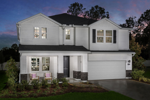 New KB homes now available in the Jacksonville area. (Photo: Business Wire)