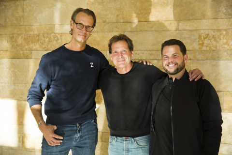 Left to right: Jacob de Geer, CEO and Co-Founder of iZettle, Dan Schulman, President and CEO of PayP ...