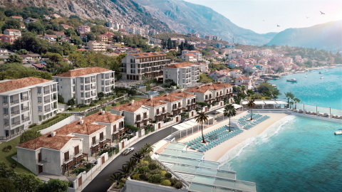 Rendering of Allure Palazzi Kotor Bay (Photo: Business Wire)