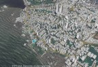 Example 3D map of Mumbai, India that will be offered in the new AW3D India dataset (view from ocean) (Graphic: Business Wire)