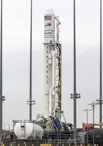 Orbital ATK's Antares rocket and Cygnus spacecraft are set to launch the Company's ninth cargo delivery mission to the International Space Station. (Photo: Business Wire)