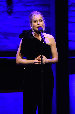 "Kristen Bell at the Geffen Playhouse's 16th annual ""Backstage at the Geffen"" fundraiser on May 19, 2018. (Photo: Jordan Strauss)"