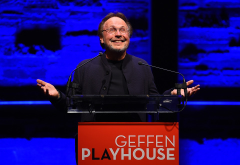 "Billy Crystal at the Geffen Playhouse's 16th annual ""Backstage at the Geffen"" fundraiser on May 19, 2018. (Photo: Jordan Strauss)"
