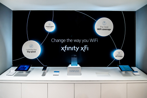 Comcast launched a new interactive Xfinity retail store, created to provide customers an immersive destination to discover Xfinity products and services. (Photo: Business Wire)