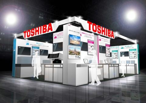 「人とくるまのテクノロジー展2018 横浜」東芝グループブース (画像:ビジネスワイヤ)