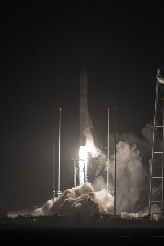 Orbital ATK's Antares rocket launched the Company's Cygnus spacecraft carrying about 7,400 pounds of cargo for the International Space Station on May 21, 2018. (Photo: Business Wire)
