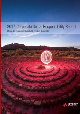 Keysight Technologies Releases 2017 Annual Corporate Social Responsibility Report (Photo: Business Wire)