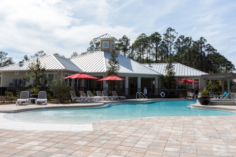 Poolside View at The Sanctuary at 331 (Photo: Business Wire)