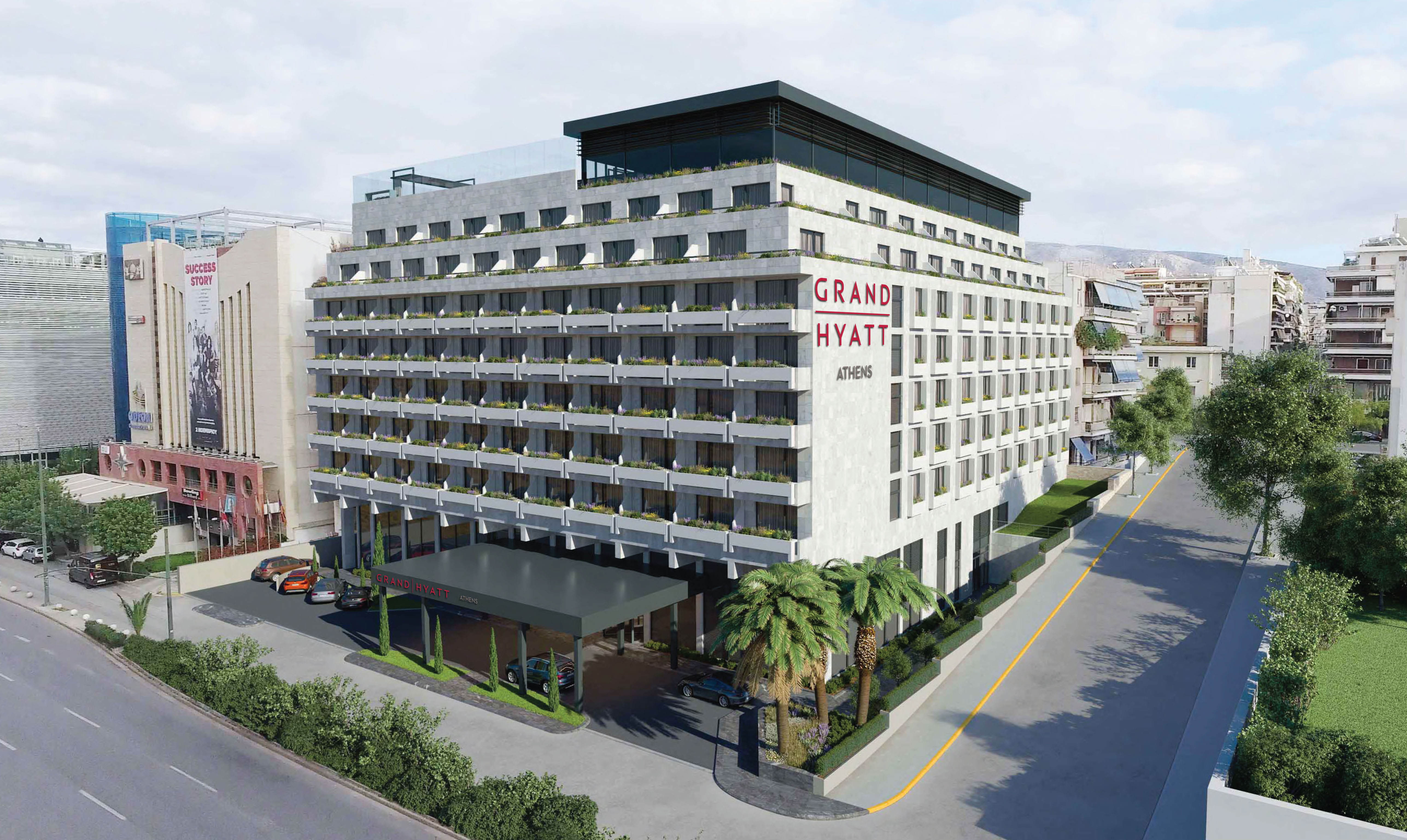 Hyatt Announces Plans For A Grand Hotel In Athens Business Wire Residential Wiring Europe