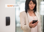 Openpath Access enables employees to quickly and securely enter the office using their smartphones. (Photo: Business Wire).